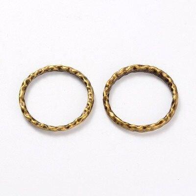 Inel de legatura,auriu antic 23mm,LIN017
