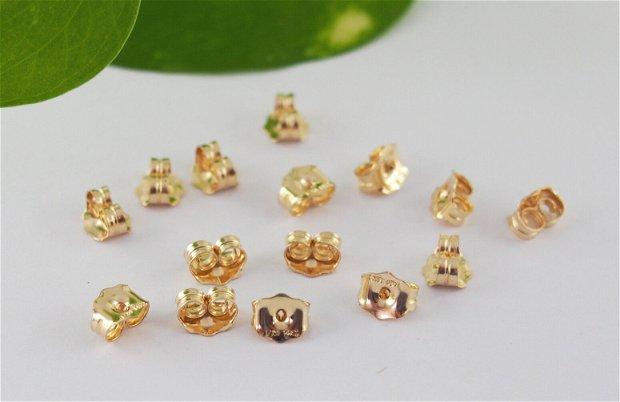 Stopper cercei, gold filled 14K (1per)