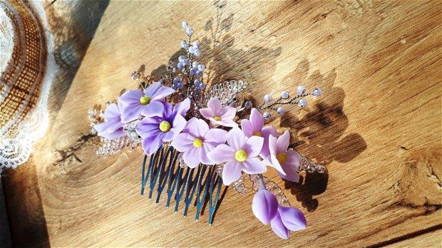 Lilac dream - pieptene  ornamental