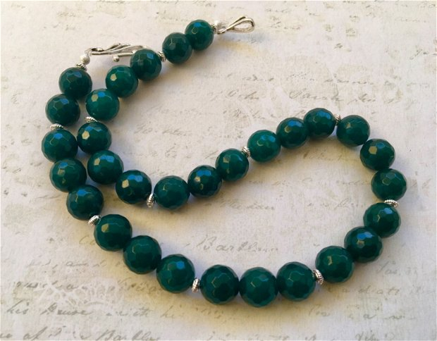 Colier radacina smarald