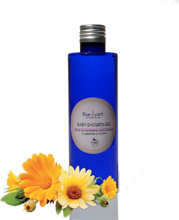 Baby Shower Gel- gel de dus extradelicat pentru copilasi-BlueScent