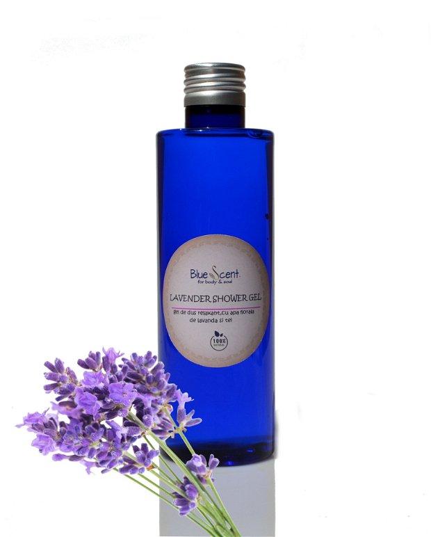 Lavender Shower Gel-gel de dus cu lavanda-BlueScent
