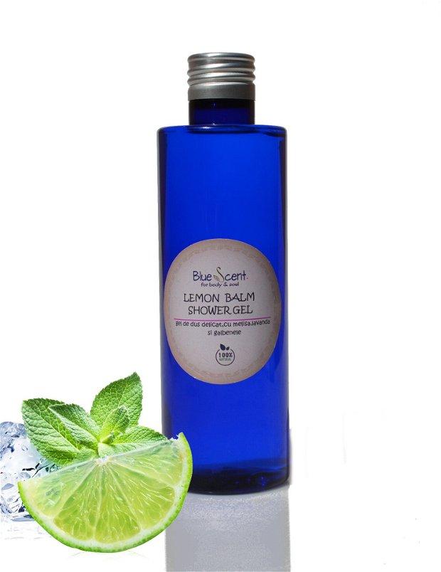 Lemon Balm Shower Gel-gel de dus cu lamaita si portocale-BlueScent