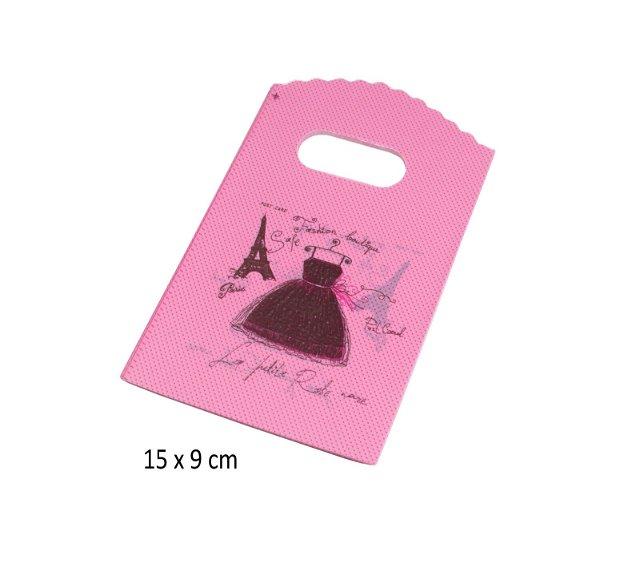 Pungute cadou, 10 bucati, 15 x 9 cm
