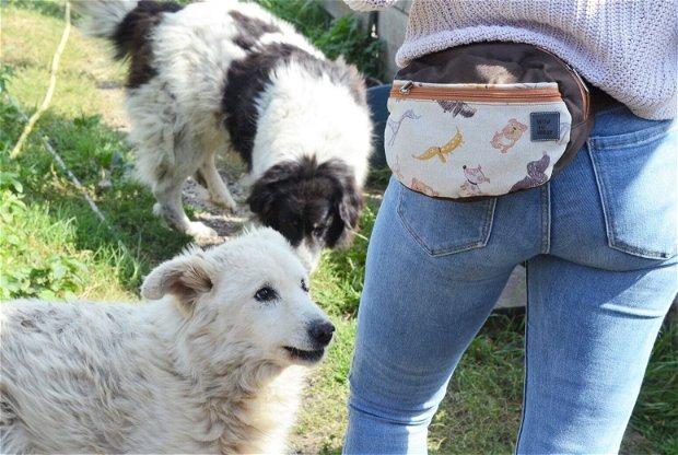 Borseta Love the Dogs - Proiect pentru fundatia PRO ANIMALIA