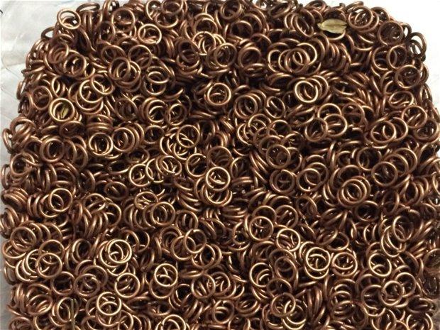 Zale cupru interior 4,5 mm -set 10 grame - zcu1