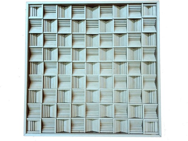 Tablou multistratificat geometric