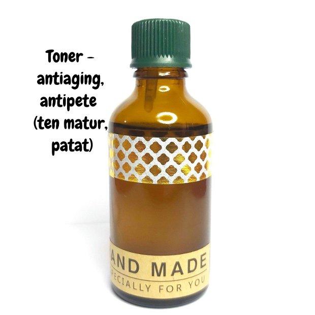 TONER - contra PETELOR PIGMENTARE (cu: vitamina C & acid ferulic) - 50ml