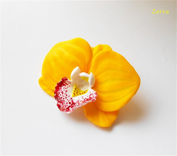 Brosa orhideea aurie