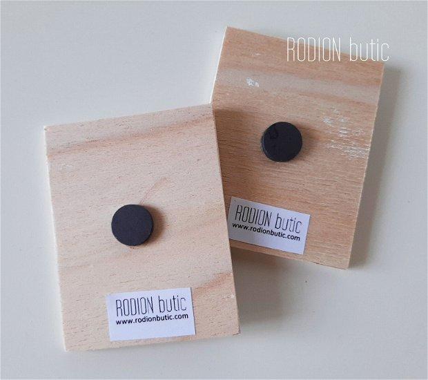 Marturii botez Micul print magnetice handmade 6x8 cm