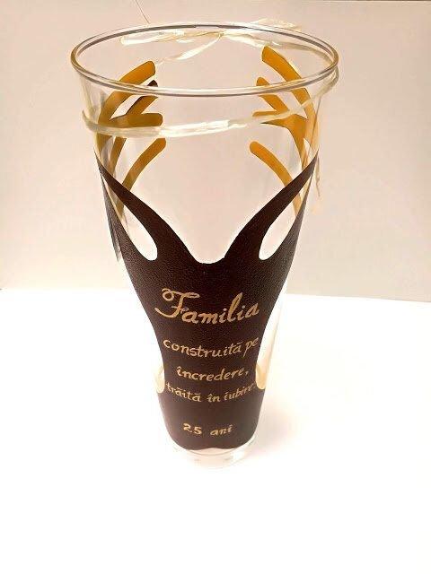 "Vaza sticla ""Pomul vietii"""