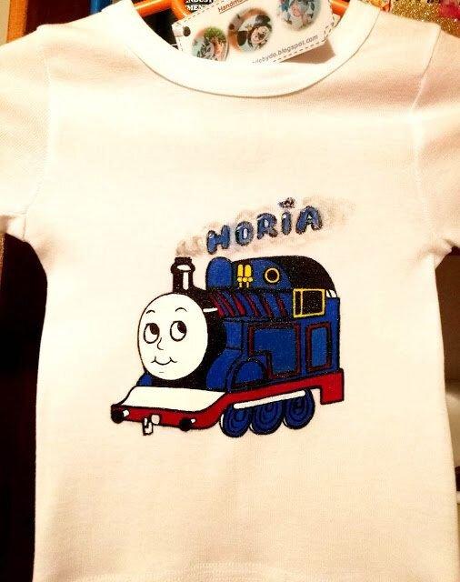 "Tricou copii, trenuletul "" Thomas"""