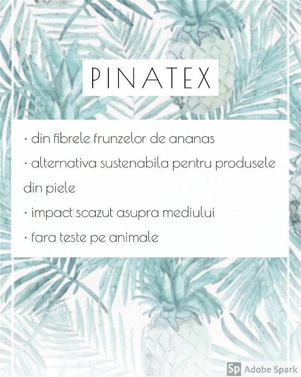 Portofel din Pinatex SLIM - A20