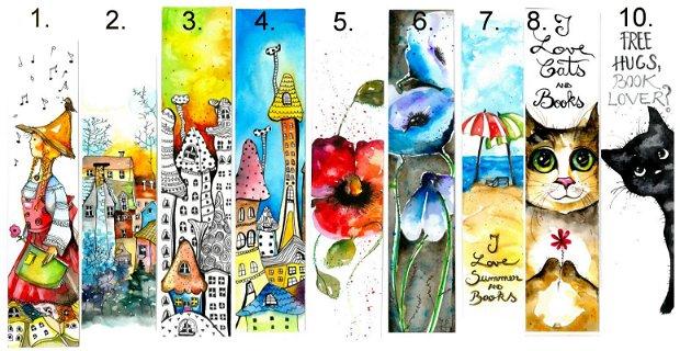 Semne de Carte - Pictura in Acuarela - Nature & Colors Collection