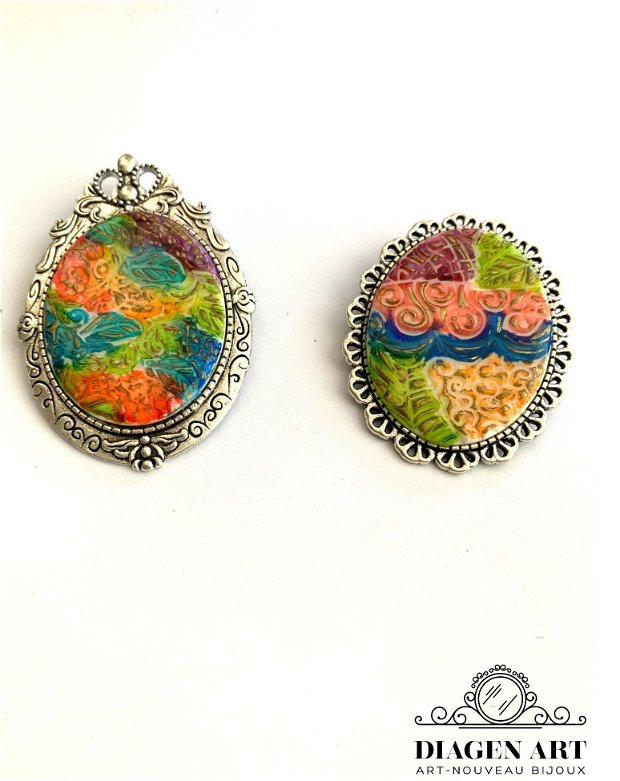 Brose multicolore