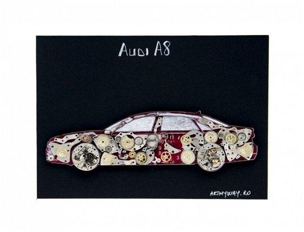 Tablou Audi A8 Colectia ART my Cars