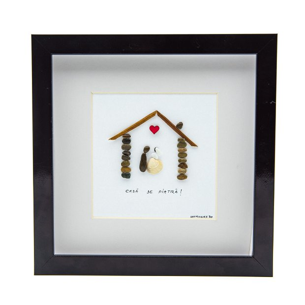 Tablou Marry me - Colectia Pebble Art