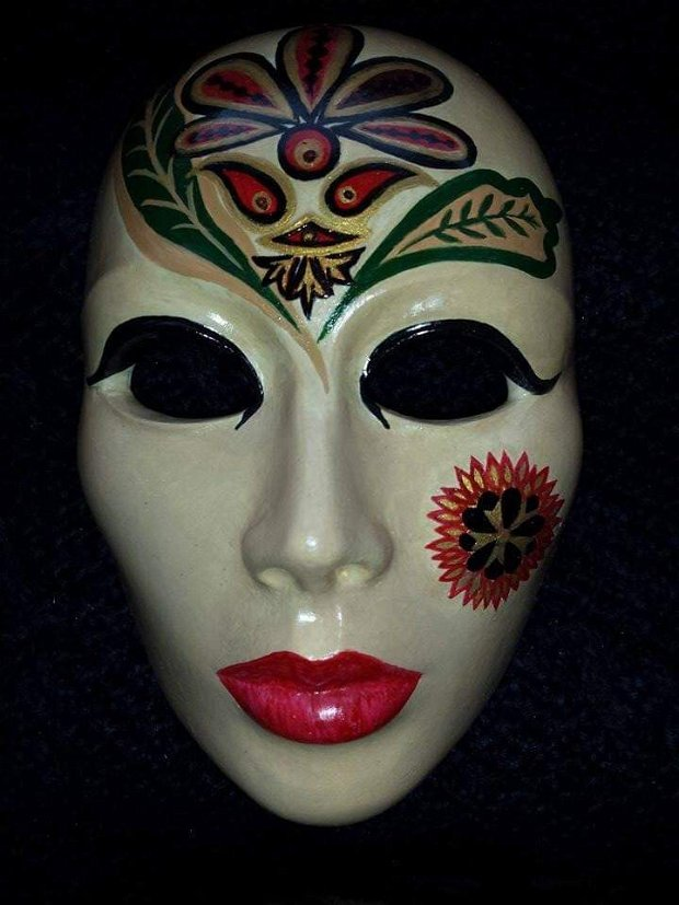Masca perete ceramica