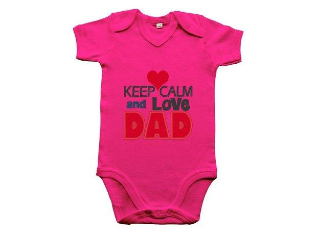 """Body bebelusi """"Love dad"""""""