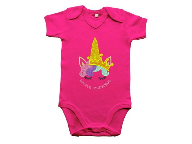 "Body bebelusi ""Unicorn Princess"""