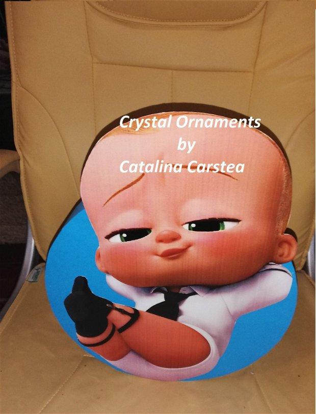 Cutie de dar botez Baby boss