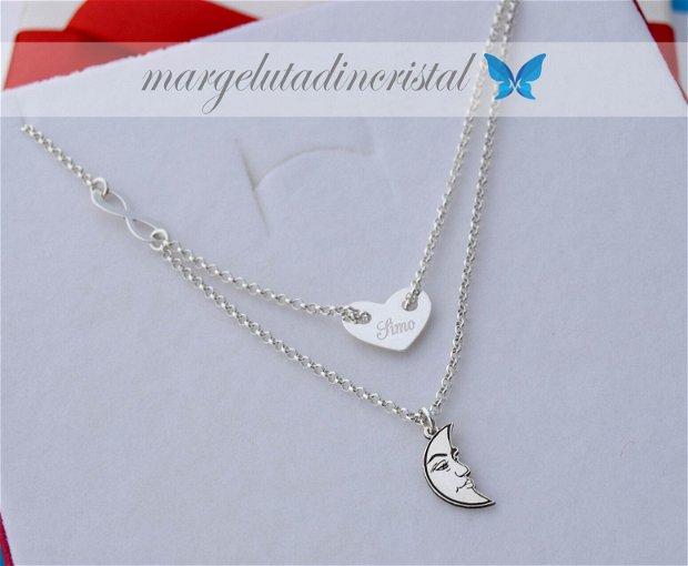 Lantisor / Colier/ Personalizat/ Argint 925