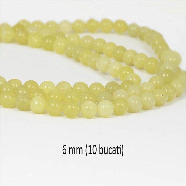 Jad Lemon, 10 bucati, 6 mm, JL02