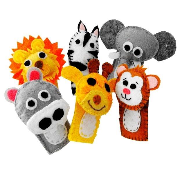 Safari finger toys - Un cadou pentru pitici.
