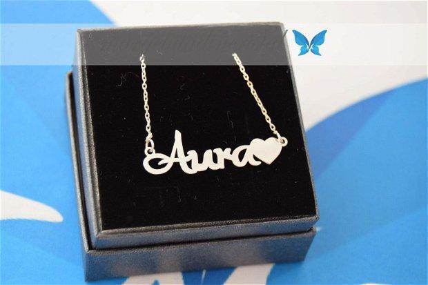 Lantisor / Colier/ Personalizat/ Nume / Simbol /Argint 925