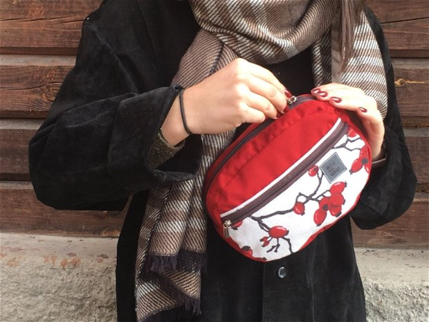 Borseta Brilliant Red