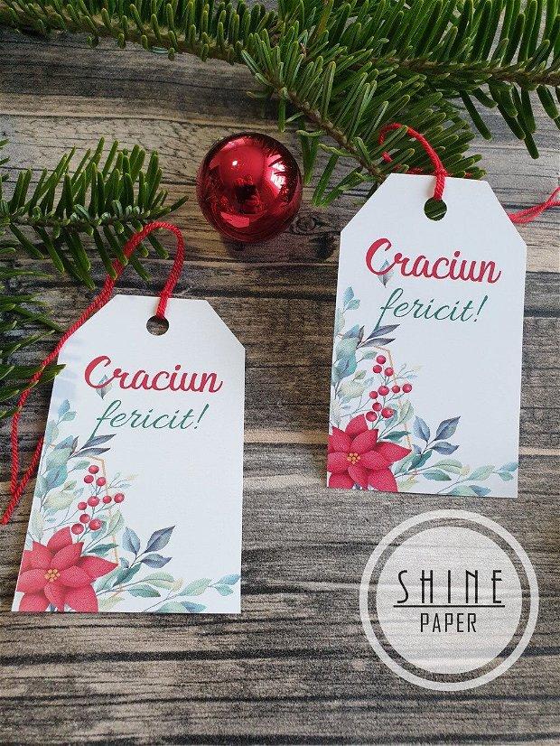 Etichete/tag-uri cadou Craciun fericit