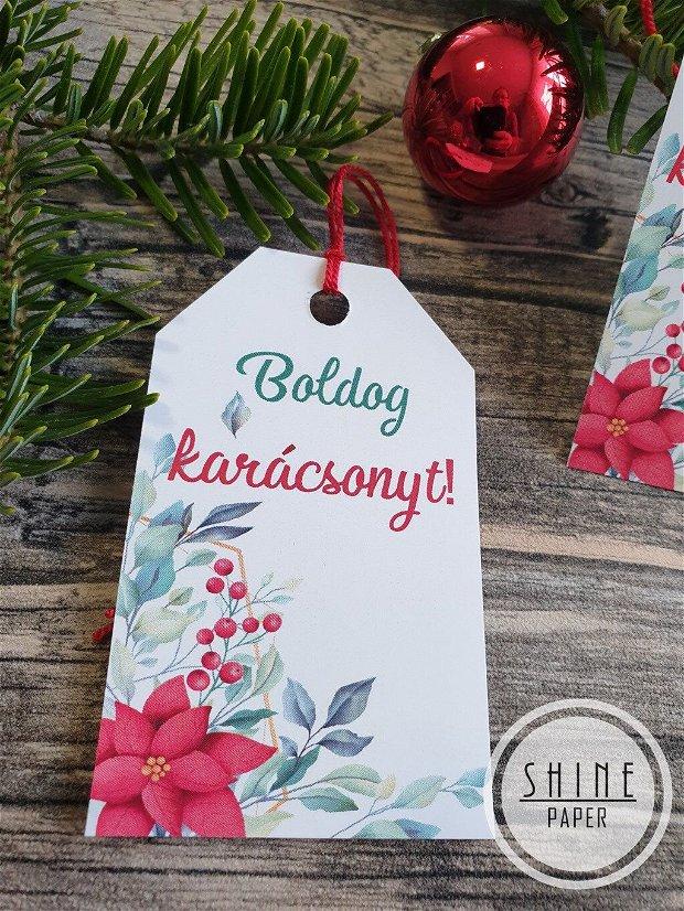 Etichete/tag-uri cadou Boldog Karacsonyt