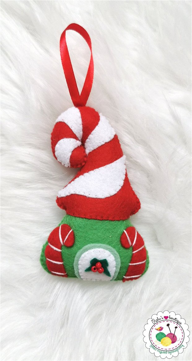 Ornament căsuța spiriduș