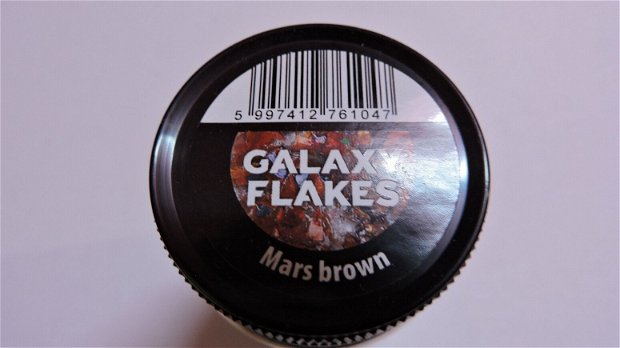Fulgi decorative Galaxy Flakes- Mars brown
