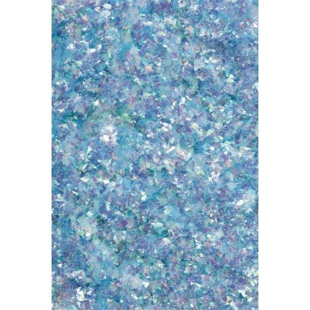 Fulgi decorative Galaxy Flakes- Uranus blue