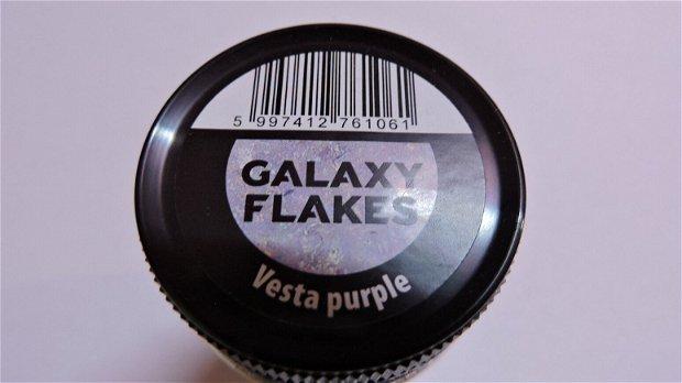 Fulgi decorative Galaxy Flakes- Vesta purple