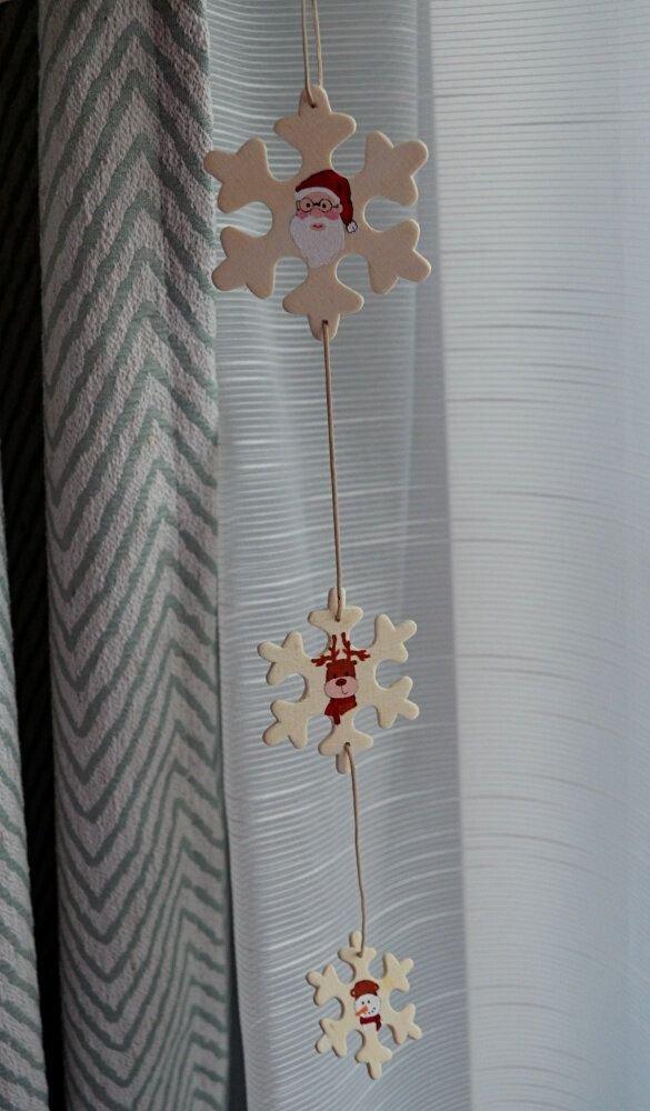 Decoratiune cu fulgi