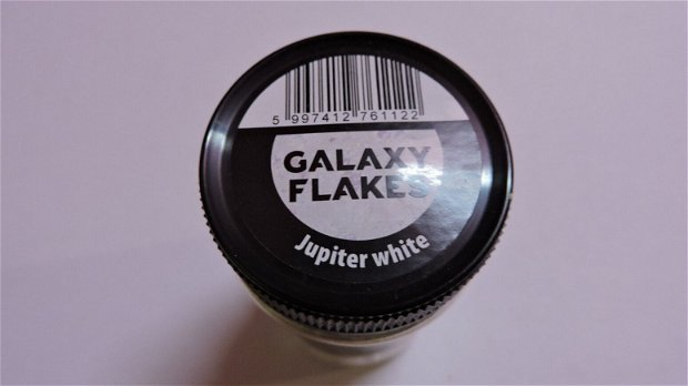 Fulgi decorative Galaxy Flakes- Jupiter white