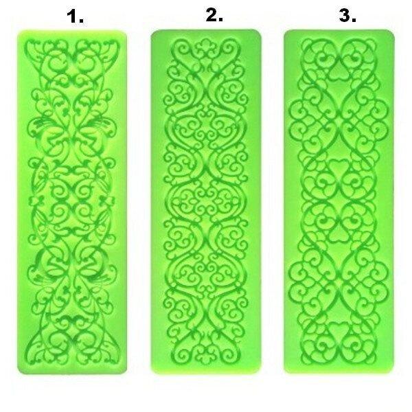 K0984 - Matrita forma silicon pt modelat fondant, martipan, gel / pasta de structura, etc