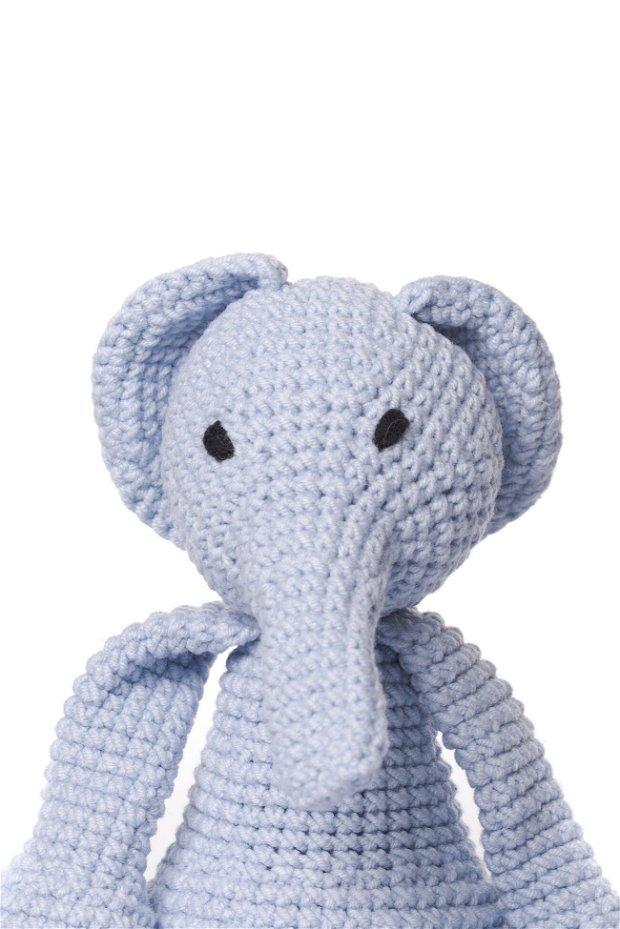 Jucarie crosetata manual, elefant, Marion