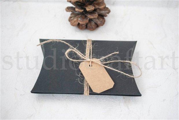 Cutiuta pillow neagra