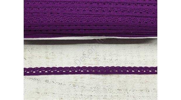 Dantela mov inchis- 1cm latime/1m lungime- 0094