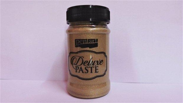 Deluxe paste (pasta metalizata)- sampanie- 100ml