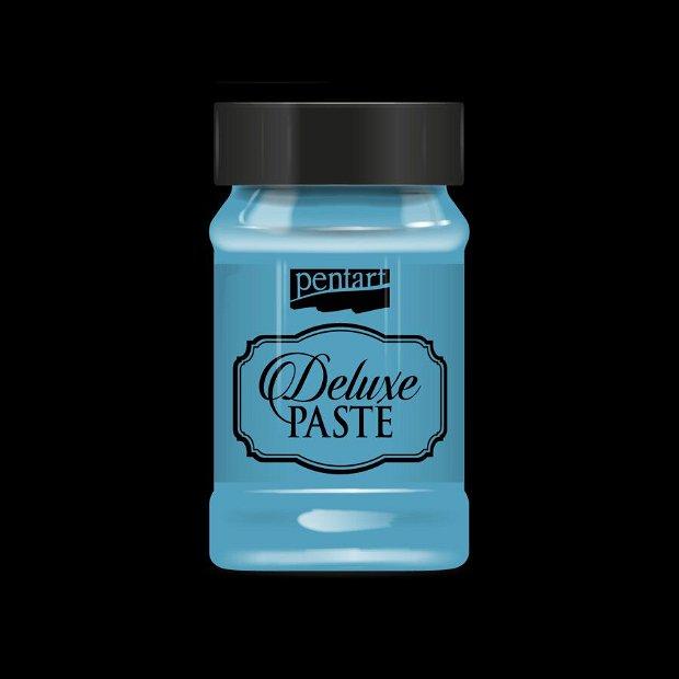 Deluxe paste (pasta metalizata)- albastru laguna- 100ml