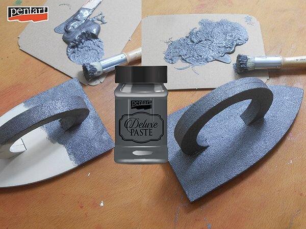 Deluxe paste (pasta metalizata)- antracit- 100ml