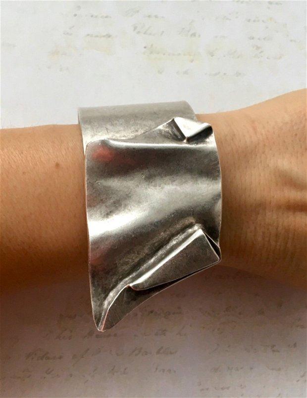 Bratara zamac argintat