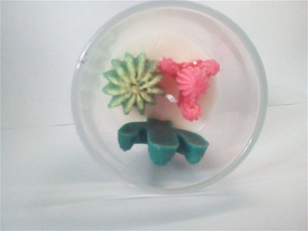Lumanare terariu mic cactusi