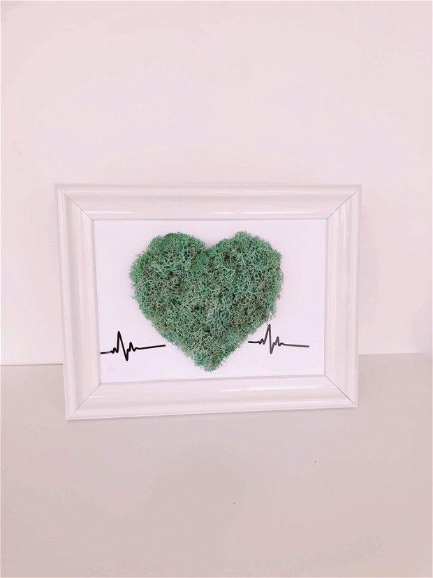 Tablou cu licheni stabilizati - HEART