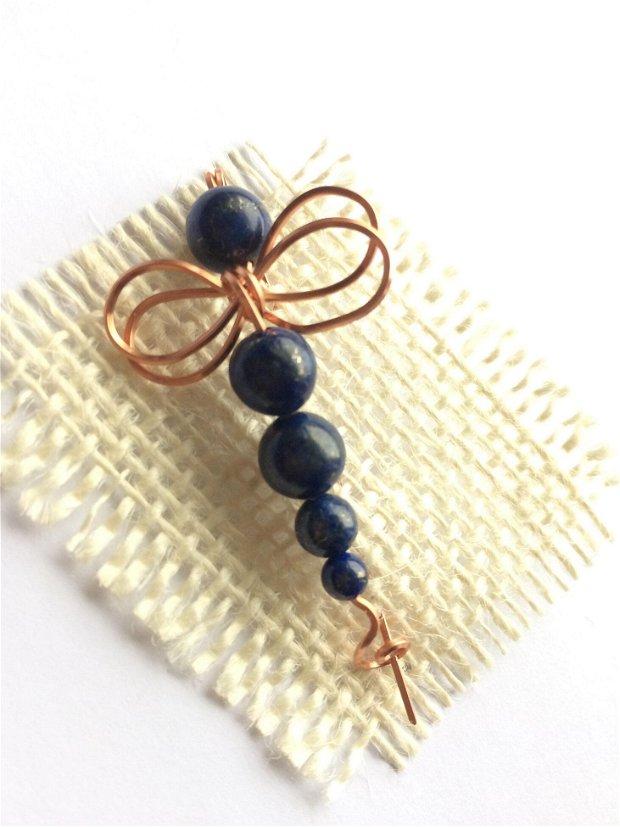 Brosa lapis lazuli (690)