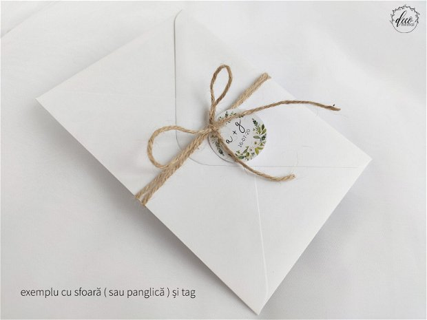 Invitatie nunta Watercolor, invitatie violet, invitatie moderna